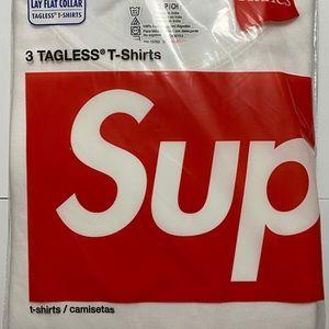 Supreme x Hanes Tee